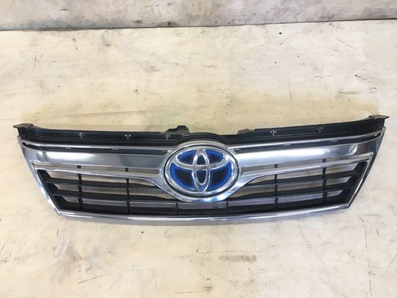 Решетка радиатора Toyota Camry AVV50 2AR-FXE 2012