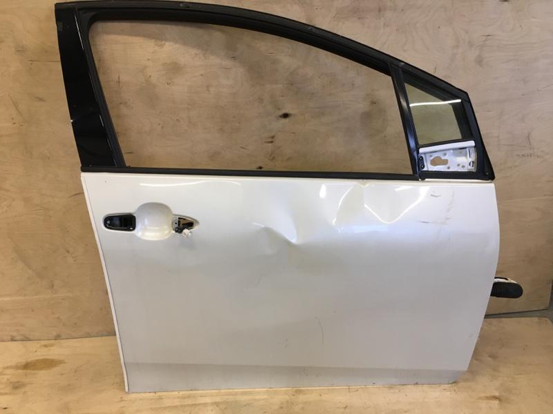 Дверь Toyota Prius ZVW55 2ZR-1NM-1MM 2019 передняя правая