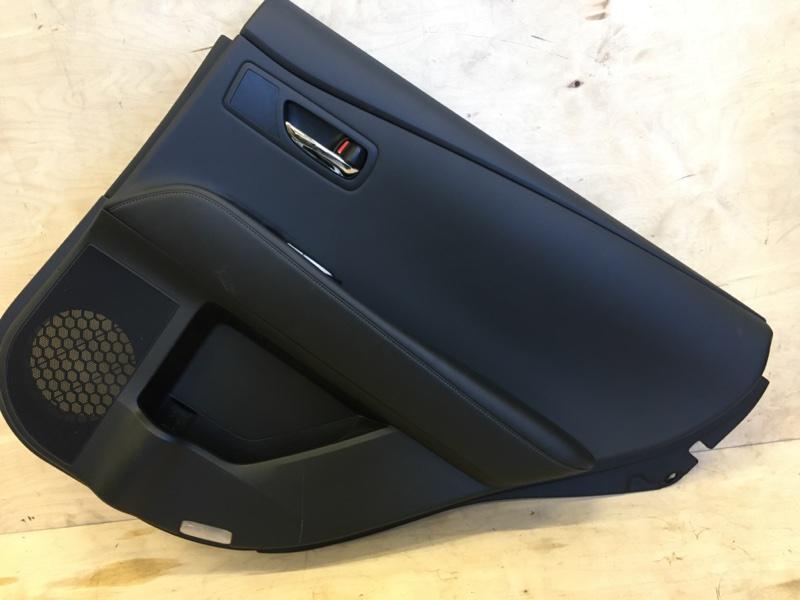 Обшивка двери Lexus Rx270 AGL10 1AR-FE 2013 задняя правая