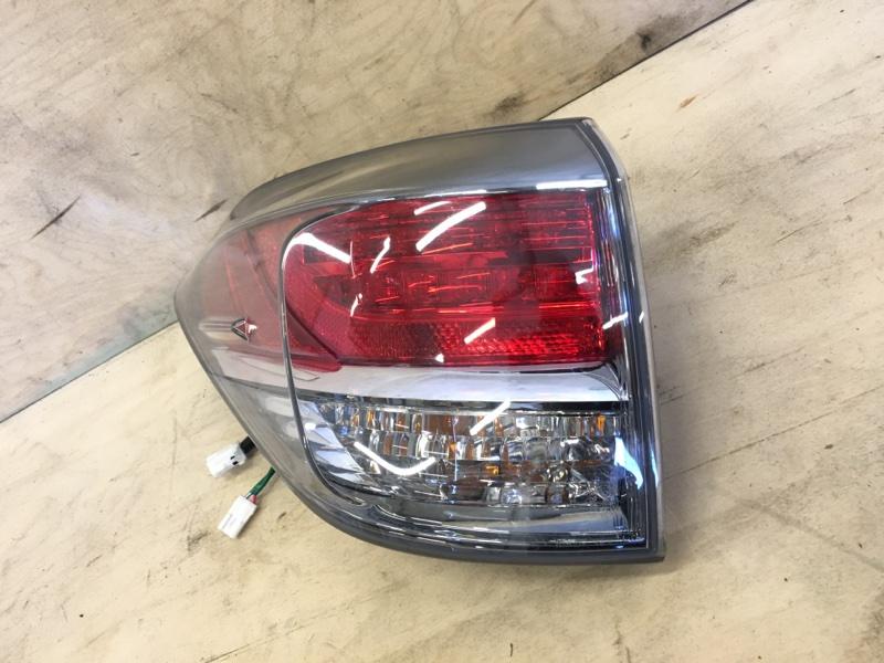 Стоп-сигнал Lexus Rx270 AGL10 1AR-FE 2013 левый