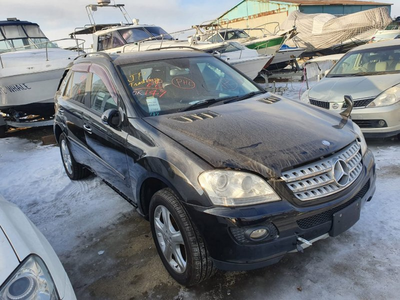 Автомобиль MERCEDES BENZ 164.186 ML350 4MATIC W164.186 M272E35 2005 года в разбор