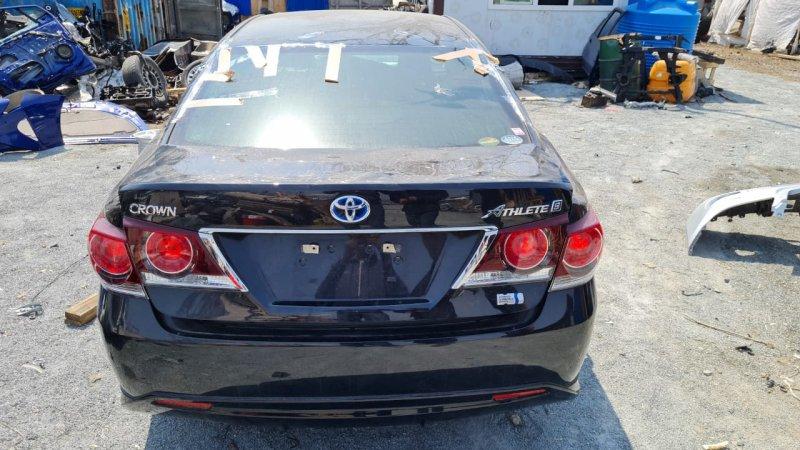 Автомобиль TOYOTA CROWN AWS210 2ARFSE 2016 года в разбор