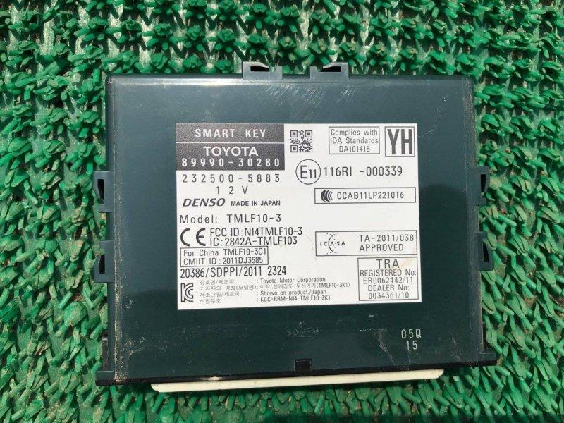 Блок управления бесключевого доступа Lexus Gs250 GWL10 2GRFXE (б/у)