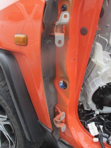 Петли двери Toyota 4Runner GRN280 1MZFE передние левые (б/у)
