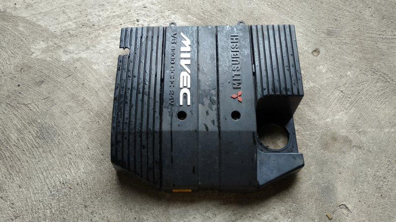 Крышка двс декоративная Mitsubishi Pajero Evolution V55W 6G74 (б/у)