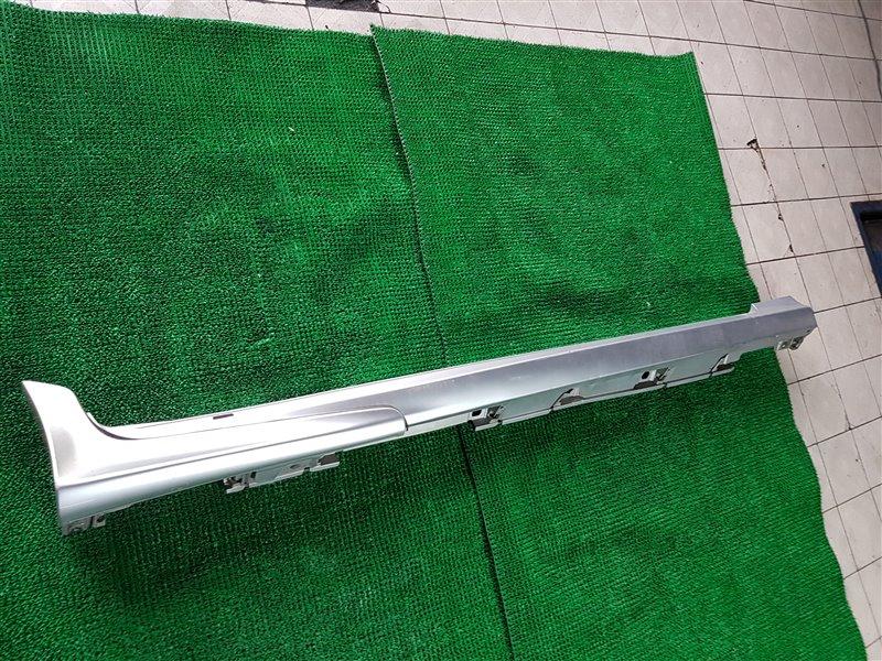 Накладка на порог Lexus Gs GWL10 2GRFXE 2012 правая (б/у)