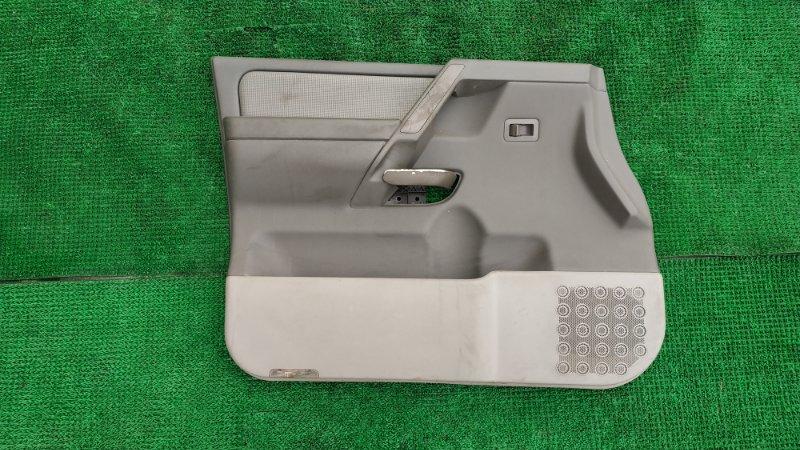 Обшивка двери Infinity Qx56 JA60 VK56 2006 передняя левая (б/у)