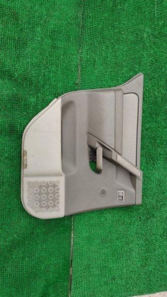 Обшивка двери Infinity Qx56 JA60 VK56 2006 задняя левая (б/у)