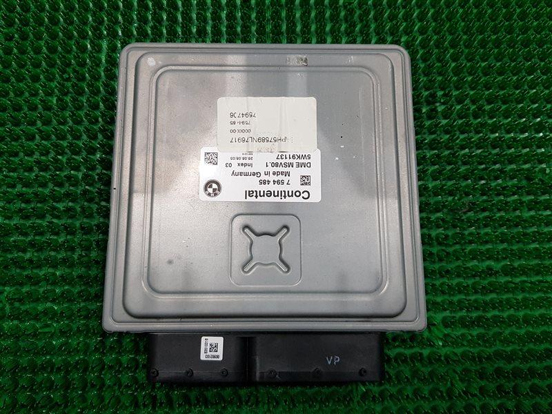 Блок управления двигателем Bmw 3-Series E90 N52B30 2009 (б/у)