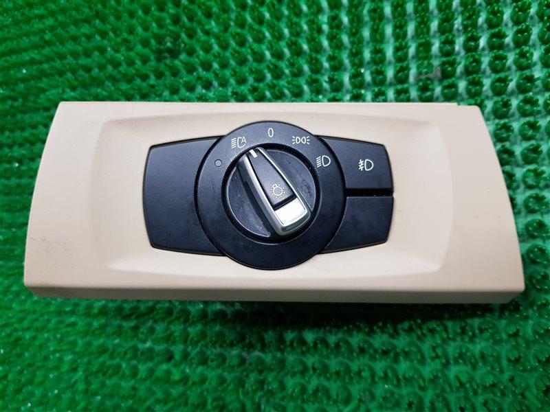 Переключатель света фар Bmw 3-Series E90 N52B30 2009 (б/у)