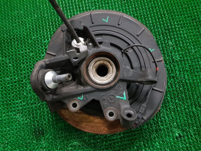 Механизм ручника Mercedes-Benz M-Class W164 M272 2008 задний левый (б/у)