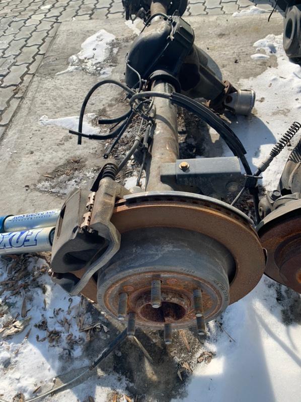 Диск тормозной Ford F-150 1FTFW1R67DFA90790 6.2L OHC 2014 задний (б/у)