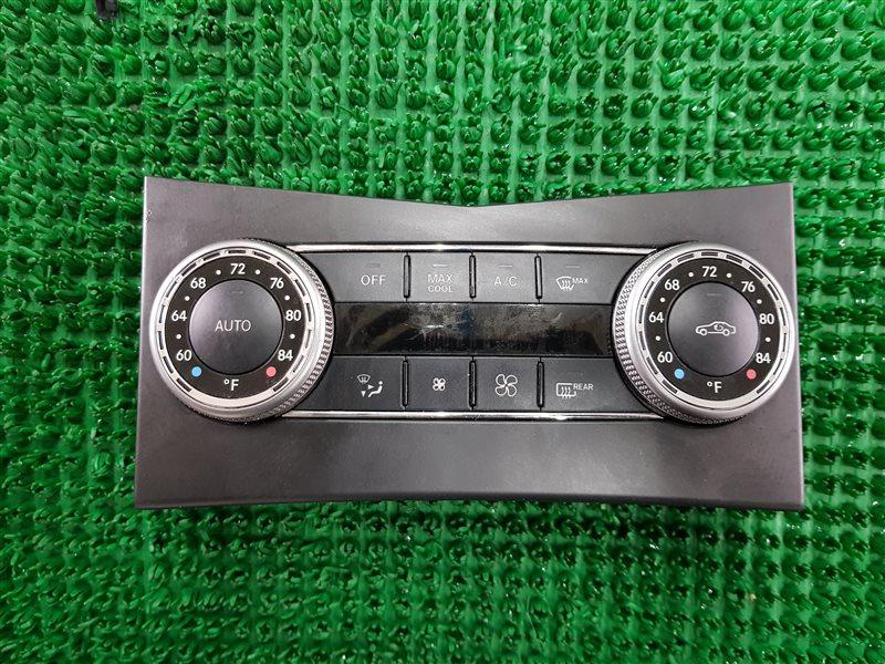 Блок управления климат-контролем Mercedes-Benz Glk-Class X204 272.991 2012 (б/у)