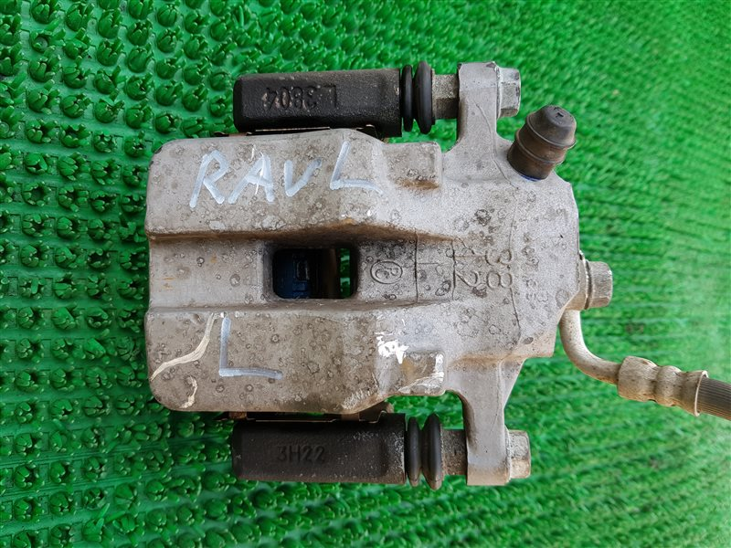 Суппорт тормозной Toyota Rav4 ASA42 2AR-FE 2014 задний левый (б/у)