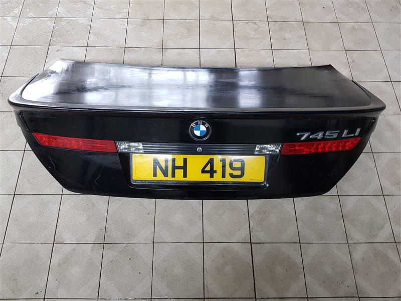 Крышка багажника Bmw 7-Series E65 N62B40 2005 задняя (б/у)