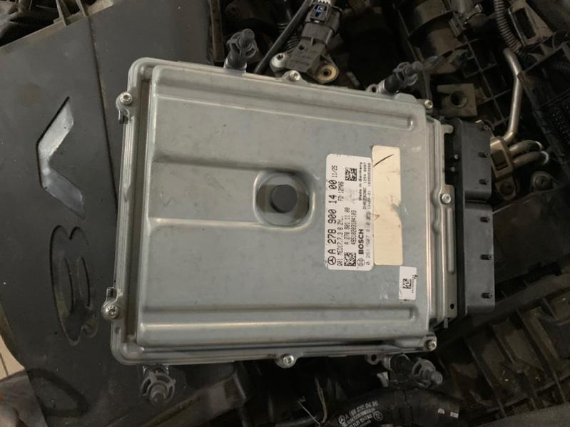 Блок управления двигателем Mercedes-Benz Gl-Class X166 M278.928 2014 (б/у)