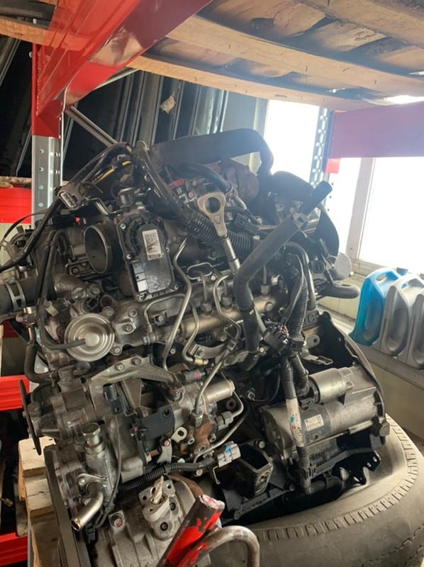 Форсунки топливные Mitsubishi Pajero V88W 4M41 2008 (б/у)