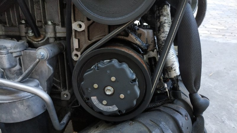 Компрессор кондиционера Porsche Cayenne 955 M48.50 2005 (б/у)