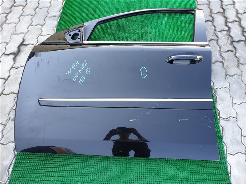 Стекло двери Mercedes-Benz Gl-Class X164 M273 2008 переднее левое (б/у)