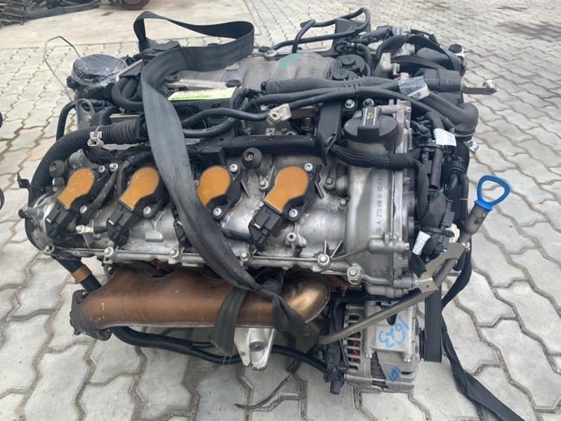 Форсунки топливные Mercedes-Benz S-Class W221 M273 E55 2008 (б/у)