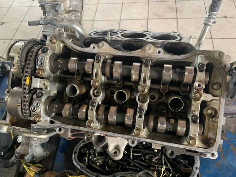 Головка блока цилиндров Lexus Gs GRL10 2GRFSE 2014 левая (б/у)