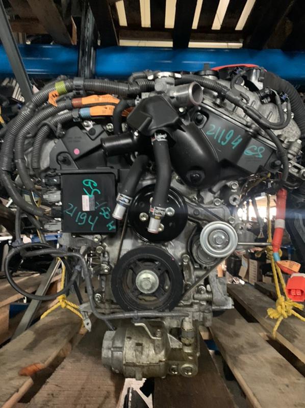 Головка блока цилиндров Lexus Gs GWL10 2GRFXE 2014 правая (б/у)