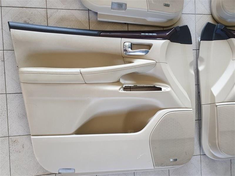 Обшивка двери Lexus Lx570 URJ201 3URFE 2009 передняя левая (б/у)