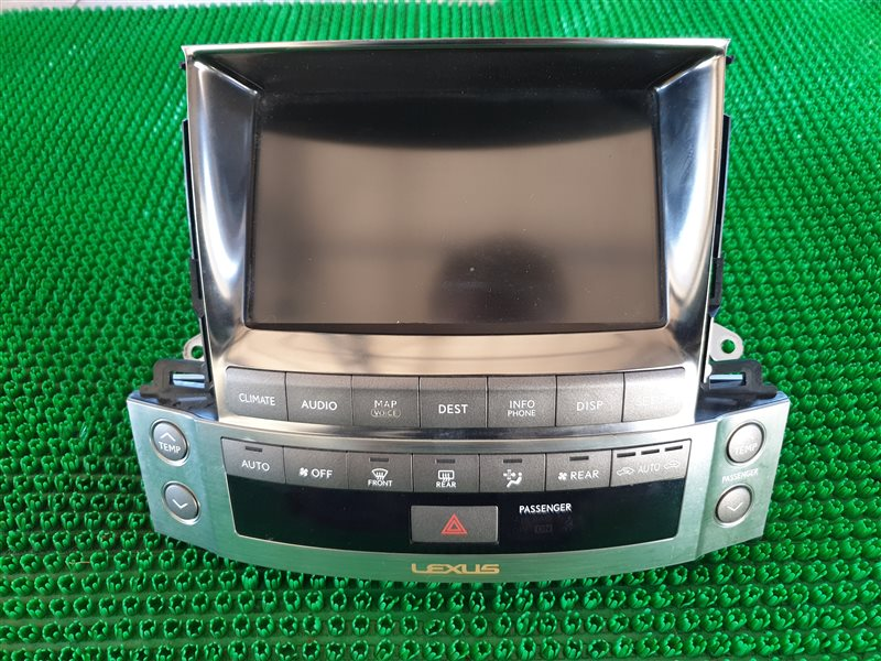 Монитор Lexus Lx570 URJ201 3URFE 2009 (б/у)