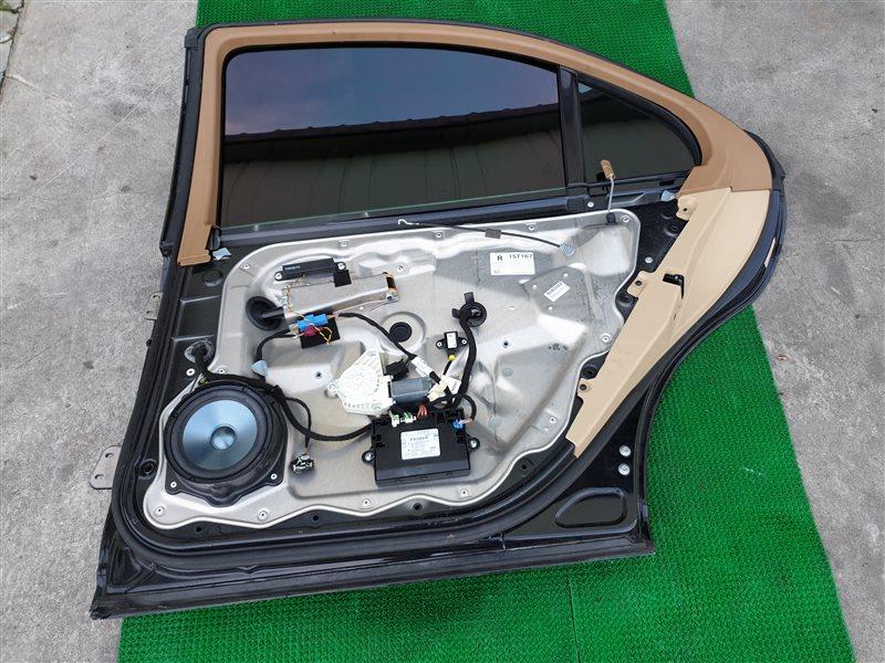 Уплотнитель двери Mercedes-Benz S-Class W221 M273E55 2008 задний правый (б/у)