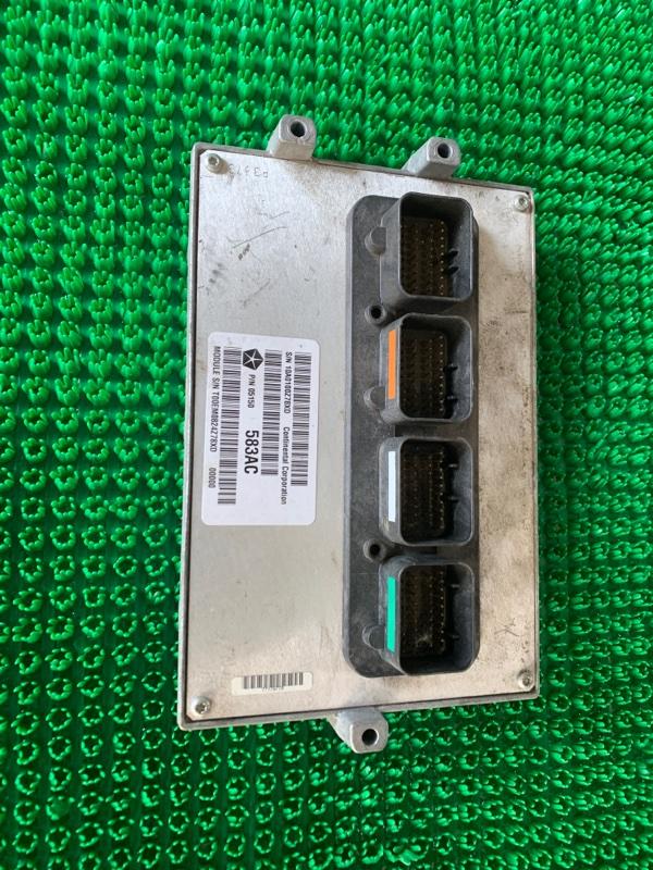 Блок управления двигателем Jeep Wrangler JK FCA 2012 (б/у)