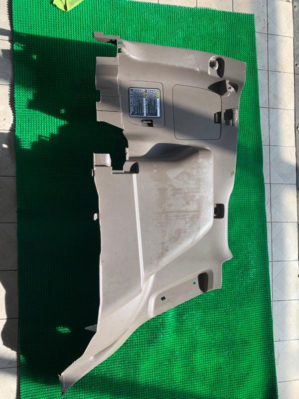 Обшивка багажника Lexus Gx460 URJ150 1URFE 2010 левая (б/у)