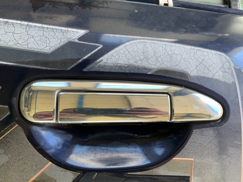 Ручка двери Nissan Safari WRGY61 TD42T 1997 задняя правая (б/у)