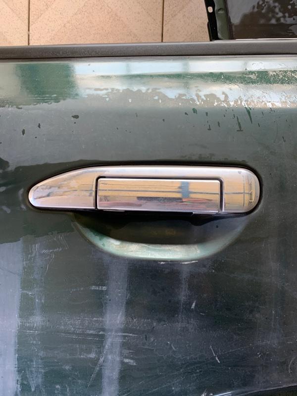 Ручка двери Nissan Safari WRGY61 TD42T 1997 задняя левая (б/у)