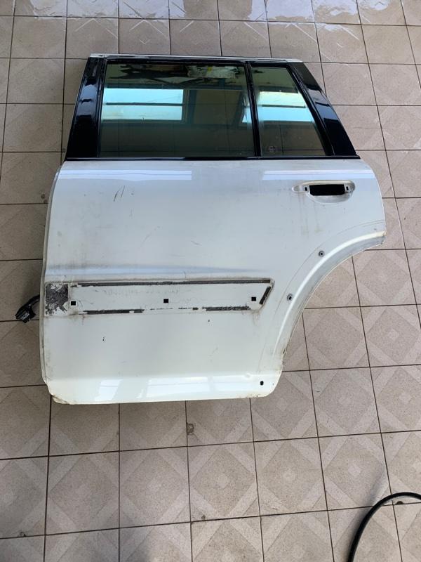 Дверь Nissan Safari WRGY61 TD42T 1997 задняя левая (б/у)