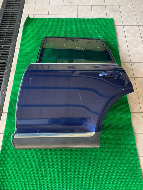 Дверь Volkswagen Touareg 7LA BAR 2002 задняя левая (б/у)