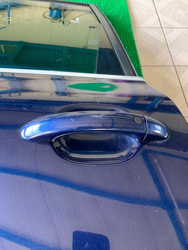 Ручка двери Volkswagen Touareg 7LA BAR 2002 задняя левая (б/у)