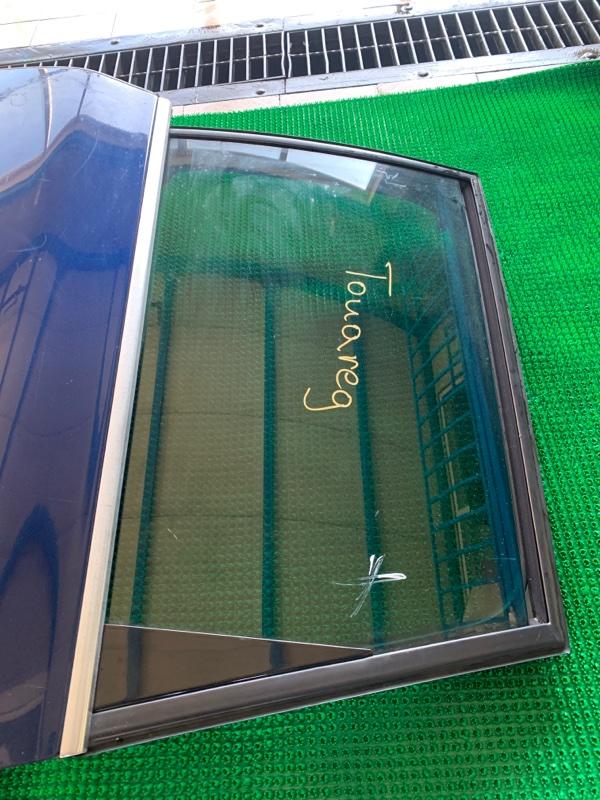 Стекло двери Volkswagen Touareg 7LA BAR 2002 заднее левое (б/у)