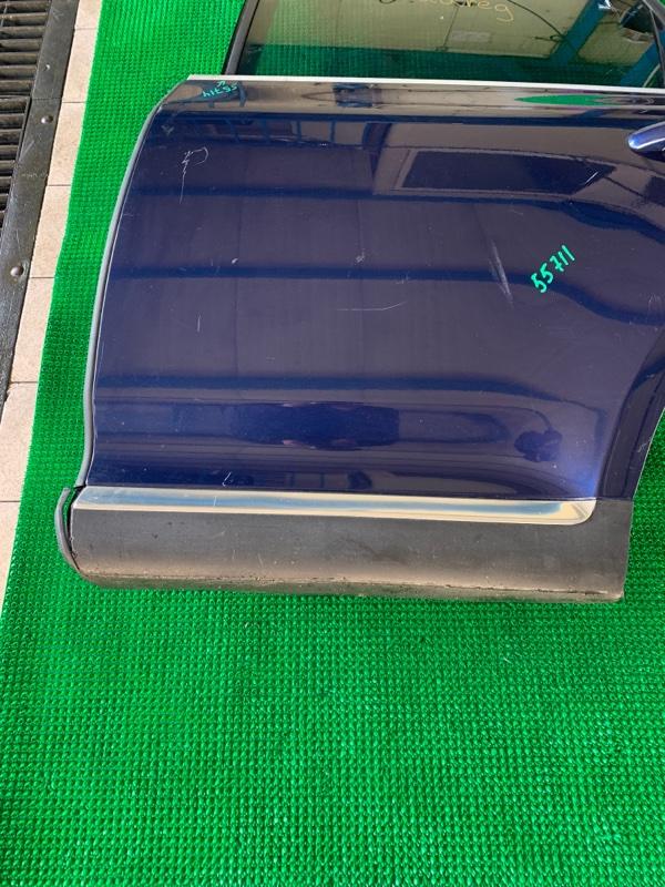 Накладка двери Volkswagen Touareg 7LA BAR 2002 задняя левая (б/у)