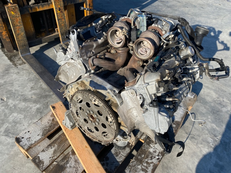 Двигатель Bmw 5-Series F10 N63B44 2008 (б/у)