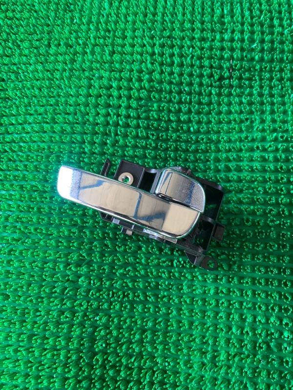 Ручка двери внутренняя Nissan Pathfinder R51 VQ40DE 2006 передняя правая (б/у)