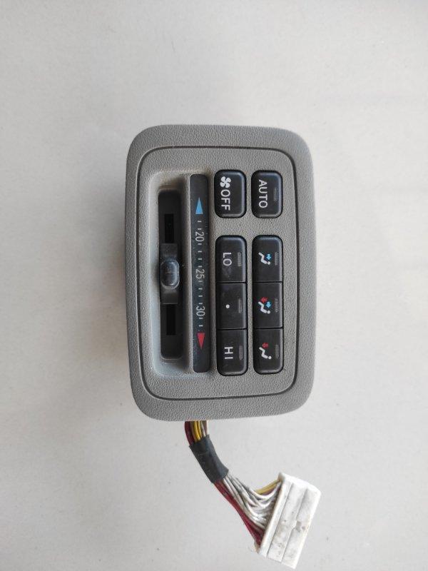 Блок управления климат-контролем Toyota Land Cruiser Cygnus UZJ100 (б/у)