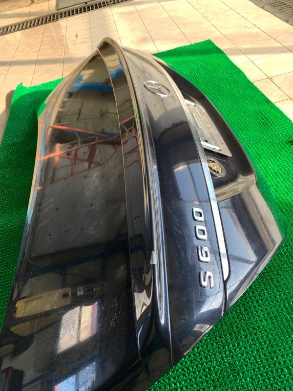 Спойлер Mercedes-Benz S-Class W221 M273E55 2007 (б/у)