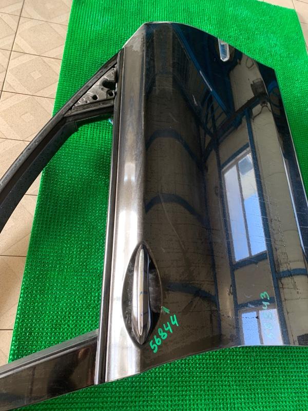 Молдинг стекла Bmw 7-Series F01 N63B44 2008 передний правый (б/у)