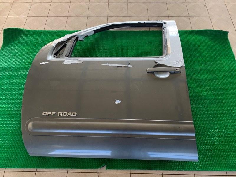 Дверь Nissan Pathfinder R51 VQ40DE 2006 передняя левая (б/у)