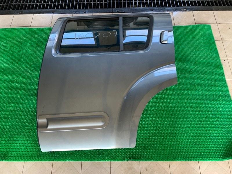 Дверь Nissan Pathfinder R51 VQ40DE 2006 задняя левая (б/у)