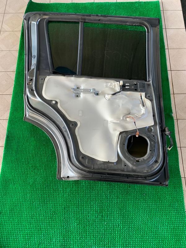 Замок двери Nissan Pathfinder R51 VQ40DE 2006 задний левый (б/у)