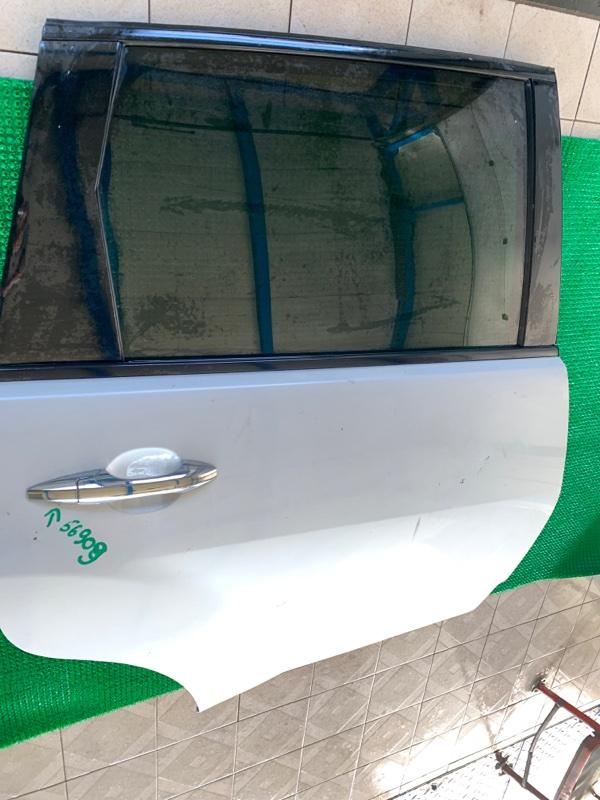 Стекло двери Acura Mdx YD2 J37A 2006 заднее правое (б/у)