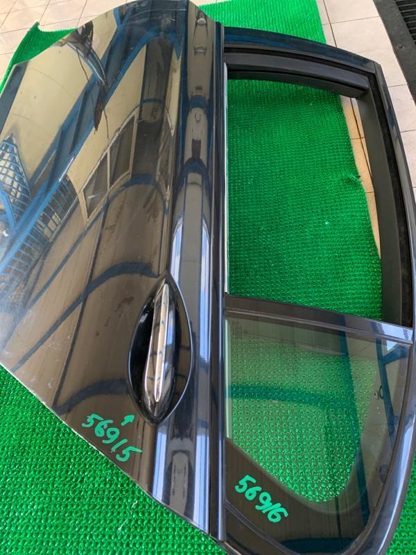 Молдинг стекла Bmw 7-Series F01 N63B44 2008 задний левый (б/у)