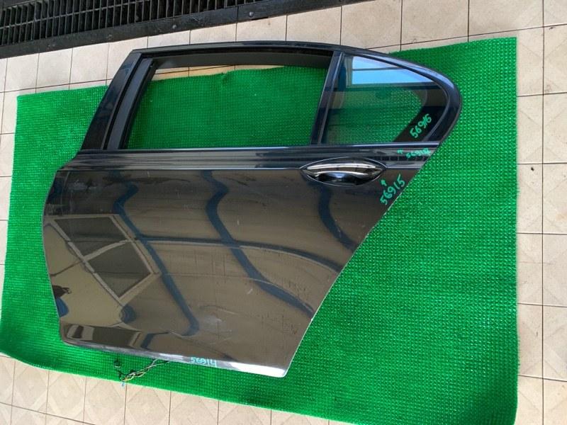 Стекло двери Bmw 7-Series F01 N63B44 2008 заднее левое (б/у)