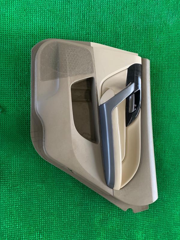 Обшивка двери Acura Mdx YD2 J37A 2006 задняя правая (б/у)